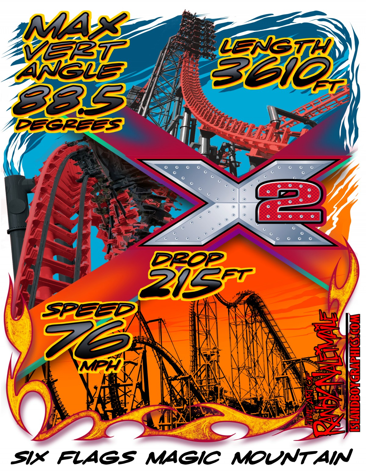 six_flags_magic_mountain_X2_VER 2